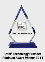 Intel's Technology Provider Platinum Award Winner 2011