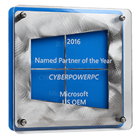2016 Microsoft Partner of the Year Award