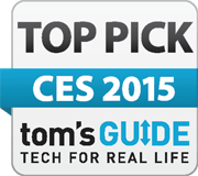 Tom's Guide Top Pick CES logo