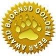 Bjorn 3D Gold