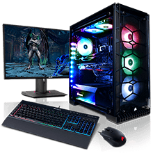 Crystal Series Basic Gaming  PC