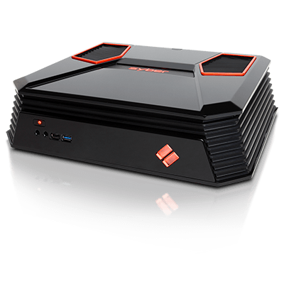 Syber C Series Mini-ITX Gaming Chassis w/ 7 color RGB LED, USB 3.0 (Black Color)
