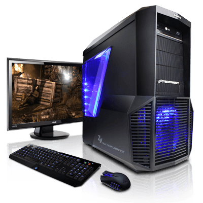 Cyber Deal AMD 8-Core Gaming  PC