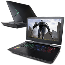 VR XPLORER X9 GTX1080 SLI Gaming  Notebook
