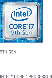 Intel 9th Gen 6-Core CPU