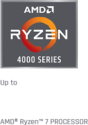Up to 8-Core AMD Ryzen 7 CPU